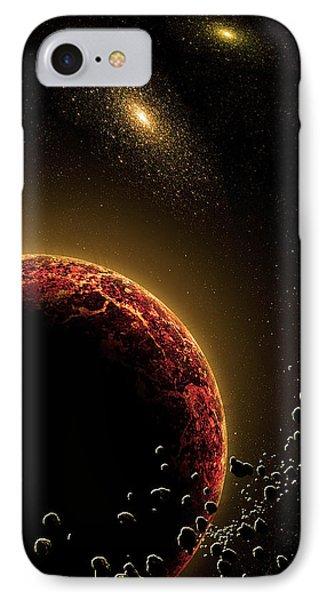 Space010 Phone Case by Svetlana Sewell