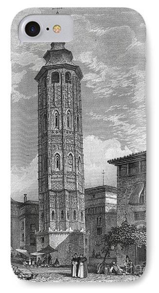 Spain: Saragossa, 1833 Phone Case by Granger