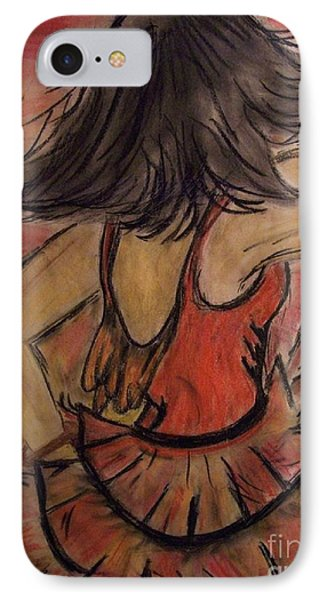 IPhone Case featuring the painting Spanish Dancer by Lori  Lovetere