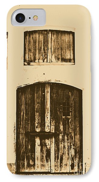 Spanish Fort Door Castillo San Felipe Del Morro San Juan Puerto Rico Prints Rustic Phone Case by Shawn O'Brien