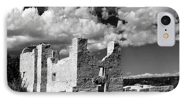 Spanish Mission Ruins Of Quarai Nm Phone Case by Christine Till