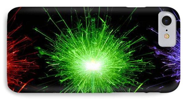 Sparklers Phone Case by Victor De Schwanberg