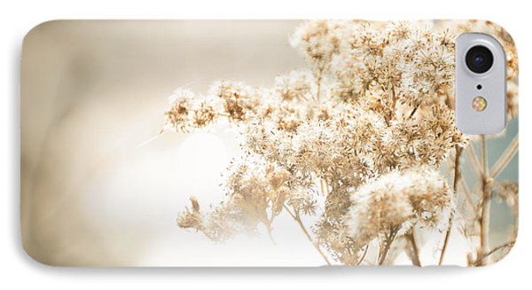 IPhone Case featuring the photograph Sparkly Weeds by Cheryl Baxter