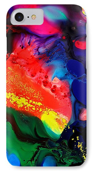IPhone Case featuring the painting Speak For Yourself by Christine Ricker Brandt