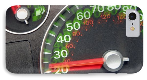 Speedometer Phone Case by Johnny Greig