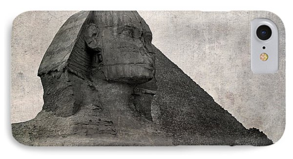 Sphinx Vintage Photo Phone Case by Jane Rix