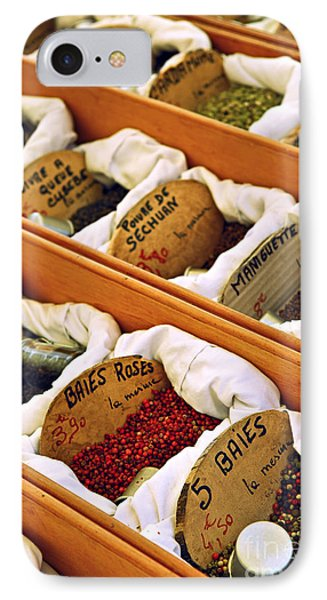 Spices On The Market Phone Case by Elena Elisseeva