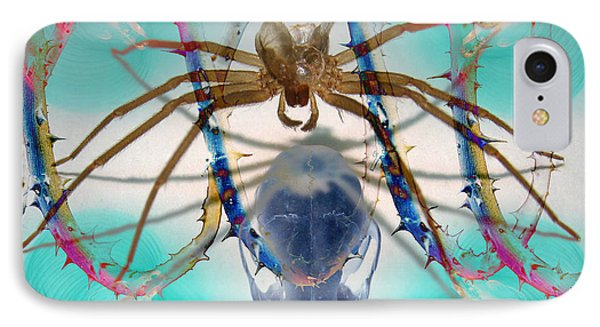 Spider Dna IPhone Case by Adam Long