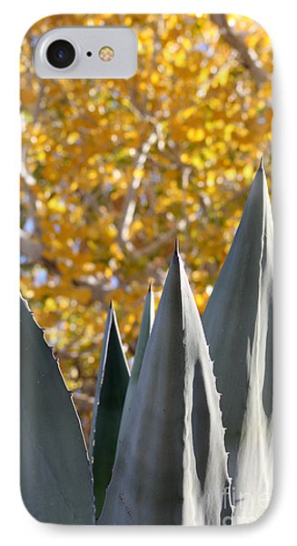 Spikes And Leaves IPhone Case by Alycia Christine