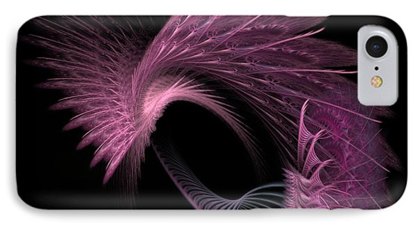 IPhone Case featuring the digital art Spinning Wheel by Kathleen Holley