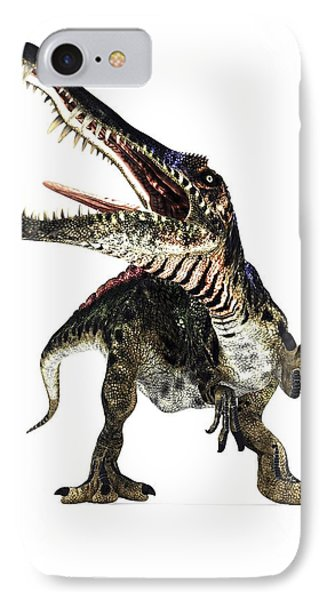 Spinosaurus Dinosaur, Artwork Phone Case by Animate4.comscience Photo Libary