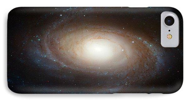 Spiral Galaxy M81 Phone Case by Nasa