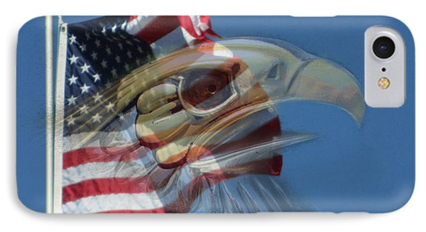 Spirit Of The Screaming Eagles Phone Case by Kevin Caudill