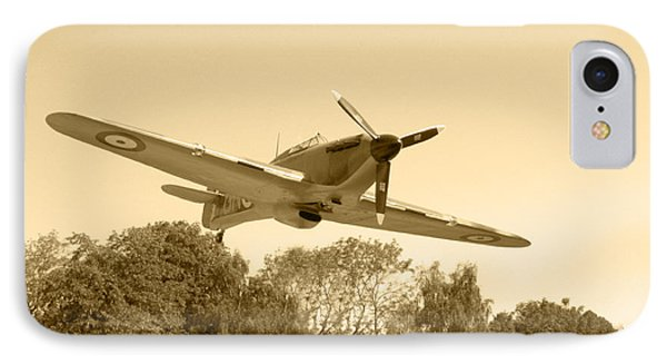 Spitfire Phone Case by Chris Day