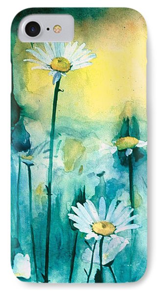 Splash Of Daisies IPhone 7 Case by Cyndi Brewer