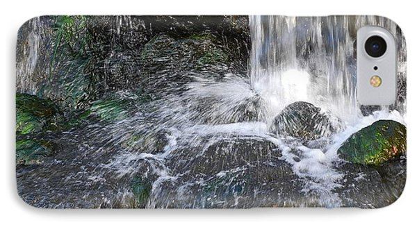 IPhone Case featuring the photograph Splashing Water Falls by Kirsten Giving