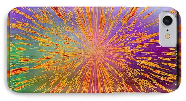Splattered Phone Case by Tim Allen
