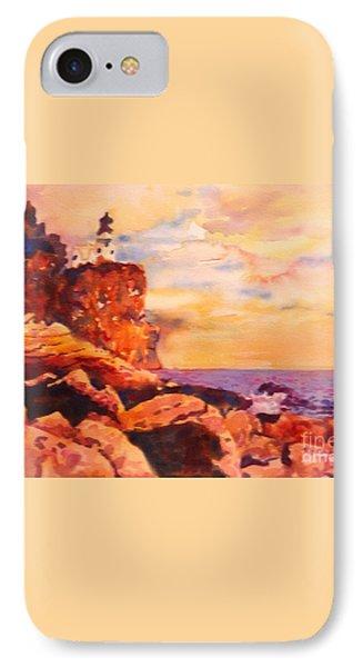 Split Rocks Golden Memories       Phone Case by Kathy Braud