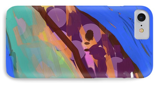 Splotchy Dolphin Greets The Day IPhone Case