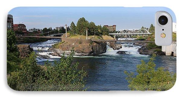 Spokane Falls Hdr Phone Case by Carol Groenen
