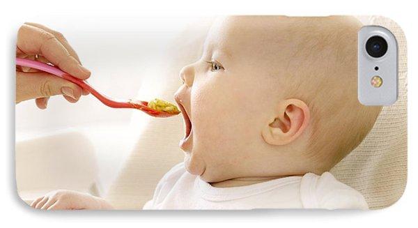 Spoon-feeding Phone Case by Ruth Jenkinson