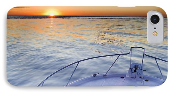 Sportfish Sunrise On The Atlantic Phone Case by Dustin K Ryan