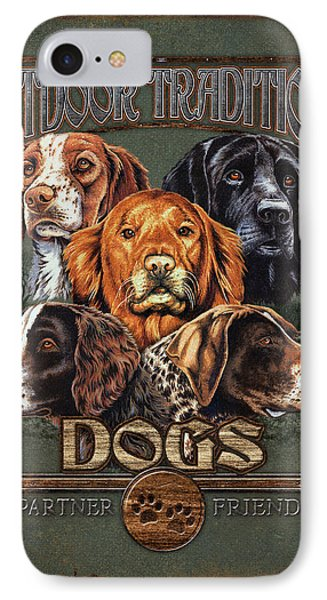Sporting Dog Traditions Phone Case by JQ Licensing