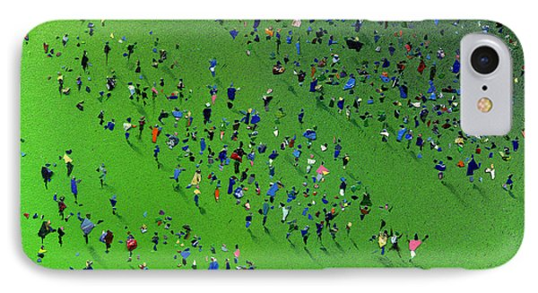 Sports Day Phone Case by Neil McBride
