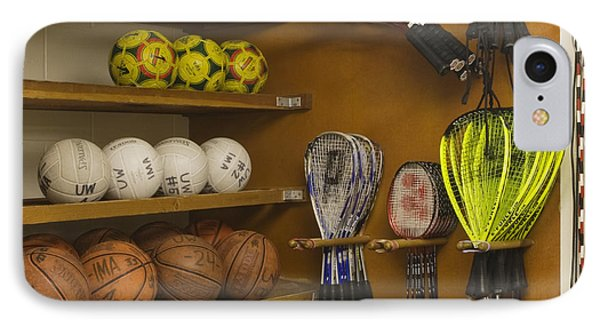 Sports Equipment Display Phone Case by Andersen Ross