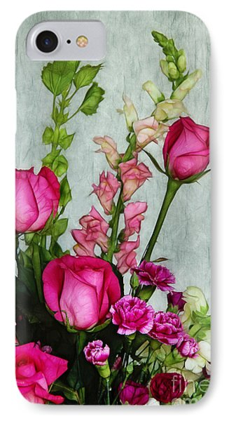 Spray Of Flowers Phone Case by Judi Bagwell