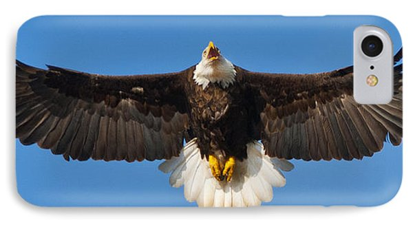 IPhone Case featuring the photograph Spread Eagle by Randall Branham