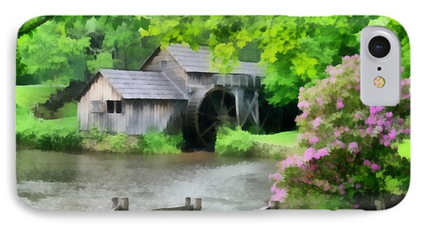 Spring At Mabry Mill Phone Case by Lynne Jenkins