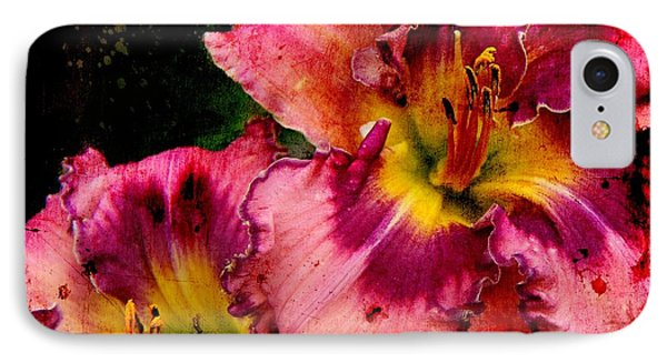 IPhone Case featuring the photograph Spring Blooms by Davandra Cribbie