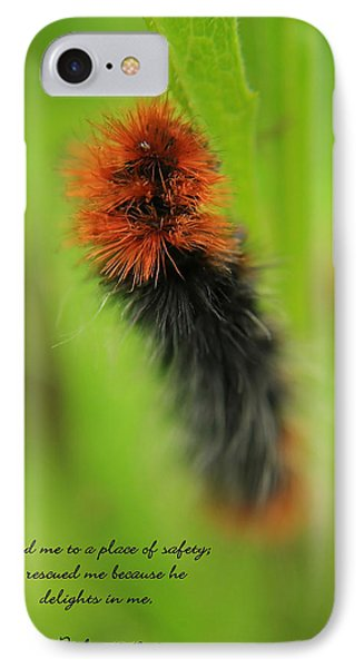 Spring Caterpillar IPhone Case