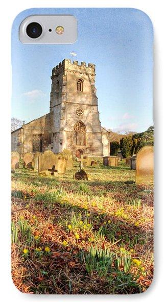 Spring Churchyard Phone Case by Sarah Couzens