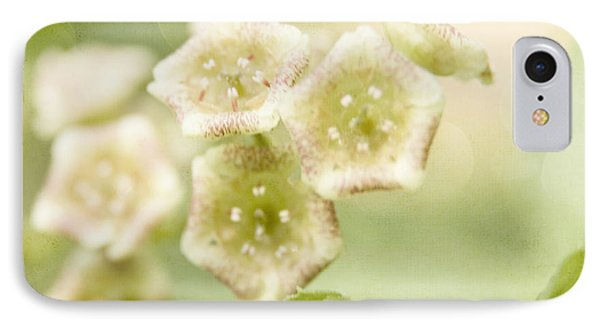 Spring Currant Blossom IPhone Case by Agnieszka Kubica