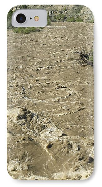 Spring Flood, Nicola River, Canada Phone Case by Kaj R. Svensson