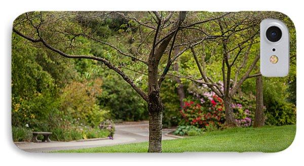 Spring Garden Landscape Phone Case by Mike Reid