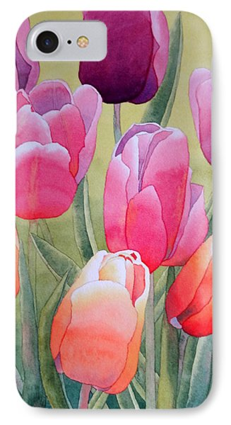IPhone Case featuring the painting Spring by Laurel Best