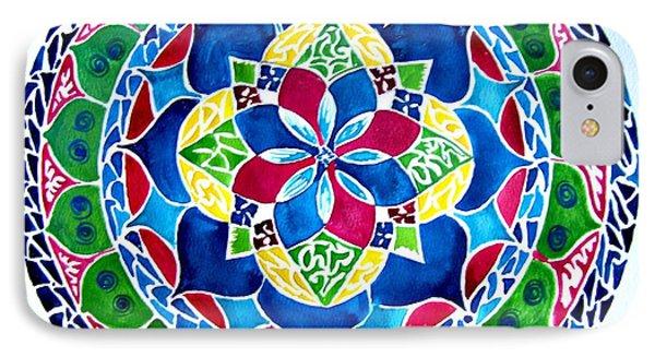 Spring Mandala IPhone Case by Sandra Lira