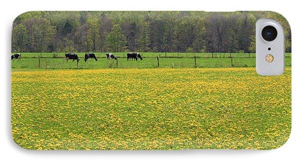 Spring Meadow Flowers Phone Case by John Stephens