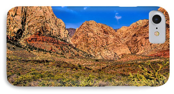 Spring Mountain Ranch In Red Rock Canyon II Phone Case by David Patterson