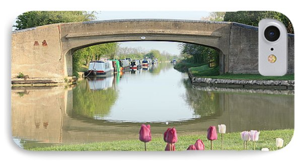 Spring On The Oxford Canal IPhone Case by Linsey Williams