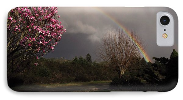 IPhone Case featuring the photograph Spring Rainbow by Katie Wing Vigil