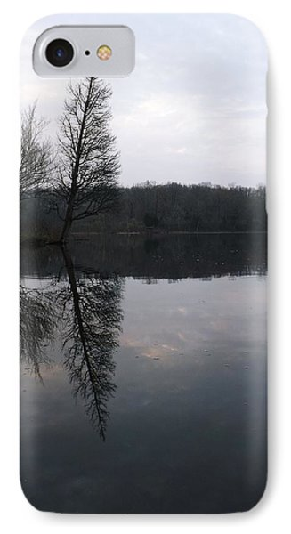 IPhone Case featuring the photograph Spring Reflection  by Gerald Strine