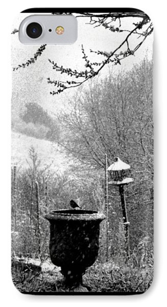IPhone Case featuring the photograph Spring Snowstorm 2012 by Susanne Still