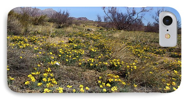 Spring Surprise Franklin Mountains Phone Case by Kurt Van Wagner