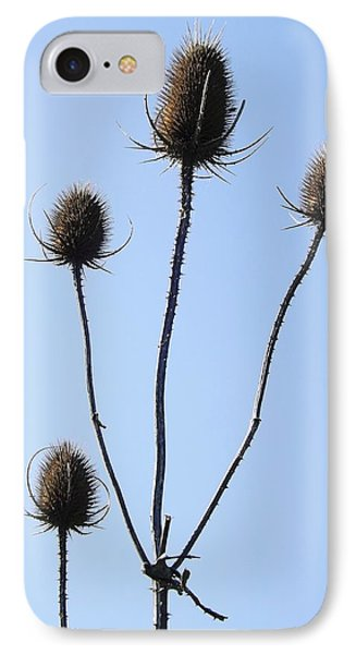 IPhone Case featuring the photograph Spring Weeds 1 by Gerald Strine