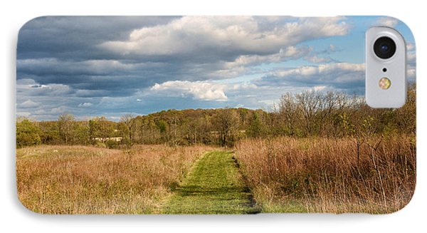 Spring's Mowed Path Phone Case by Rachel Cohen