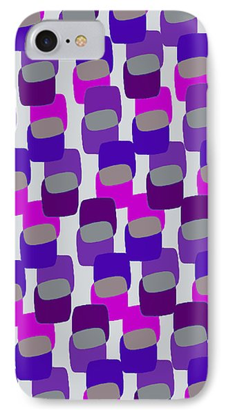 Squares IPhone Case by Louisa Knight